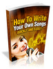 Thumbnail How To Write Your Own Song